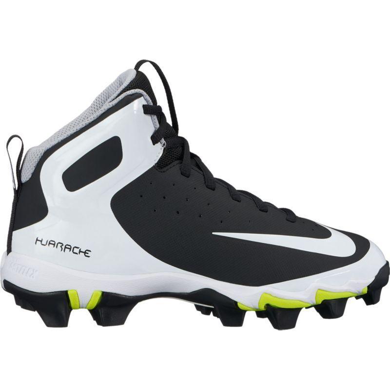 huge discount f698f 94dfb Nike Kids  Alpha Huarache Keystone Mid Baseball Cleats, Size  4.0, Black