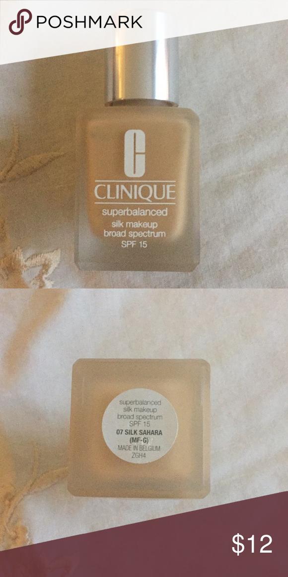 Clinique superbalanced silk makeup Clinique makeup