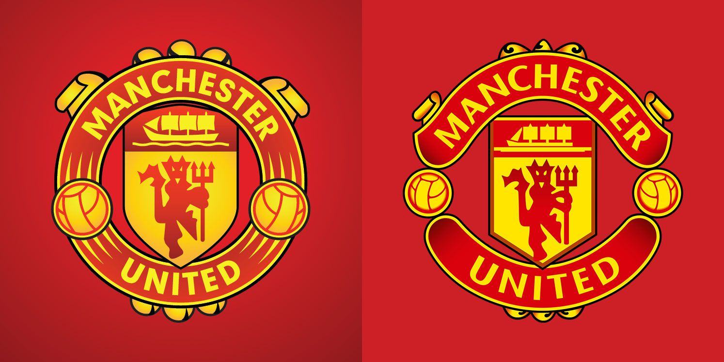 Did Manchester United Show Off A New Logo In Movie Trailer Manchester United Manchester Logo The Unit