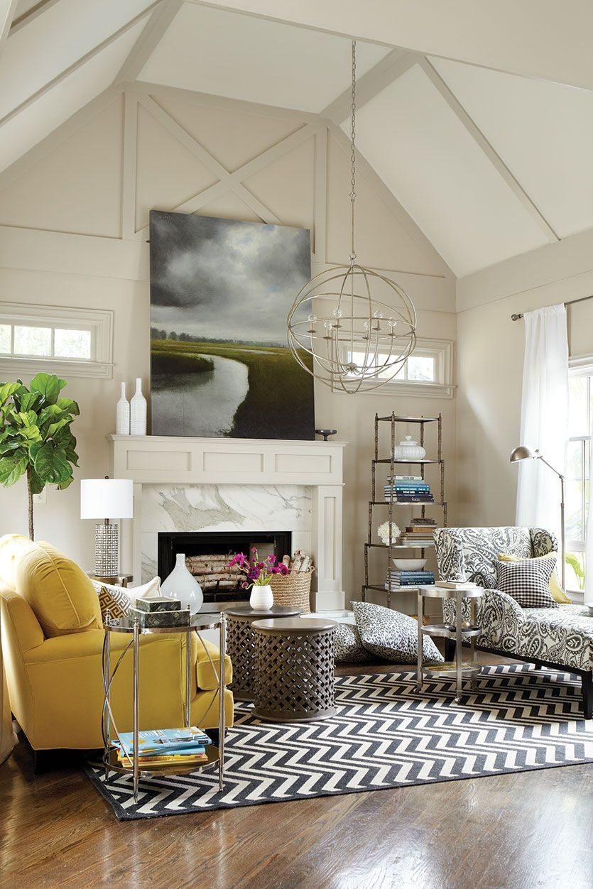 When It Involves Styling Rooms The Lines In Between Interior As Well As Outdoor Living Ha Contemporary Living Room Design Home Goods Decor Living Room Designs Well decorated living rooms