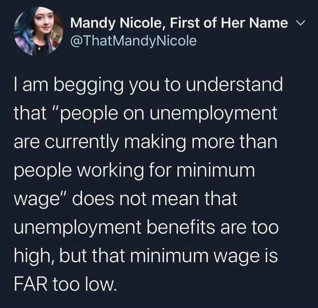 Help lift everyone up, not just the 1% : LateStageCapitalism