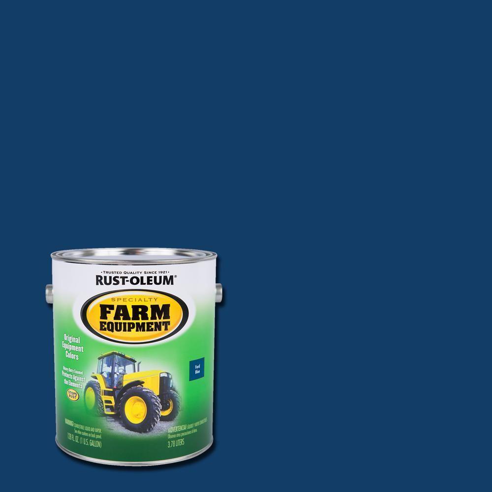 Rust Oleum Specialty 1 Gal Farm Equipment Ford Blue Gloss