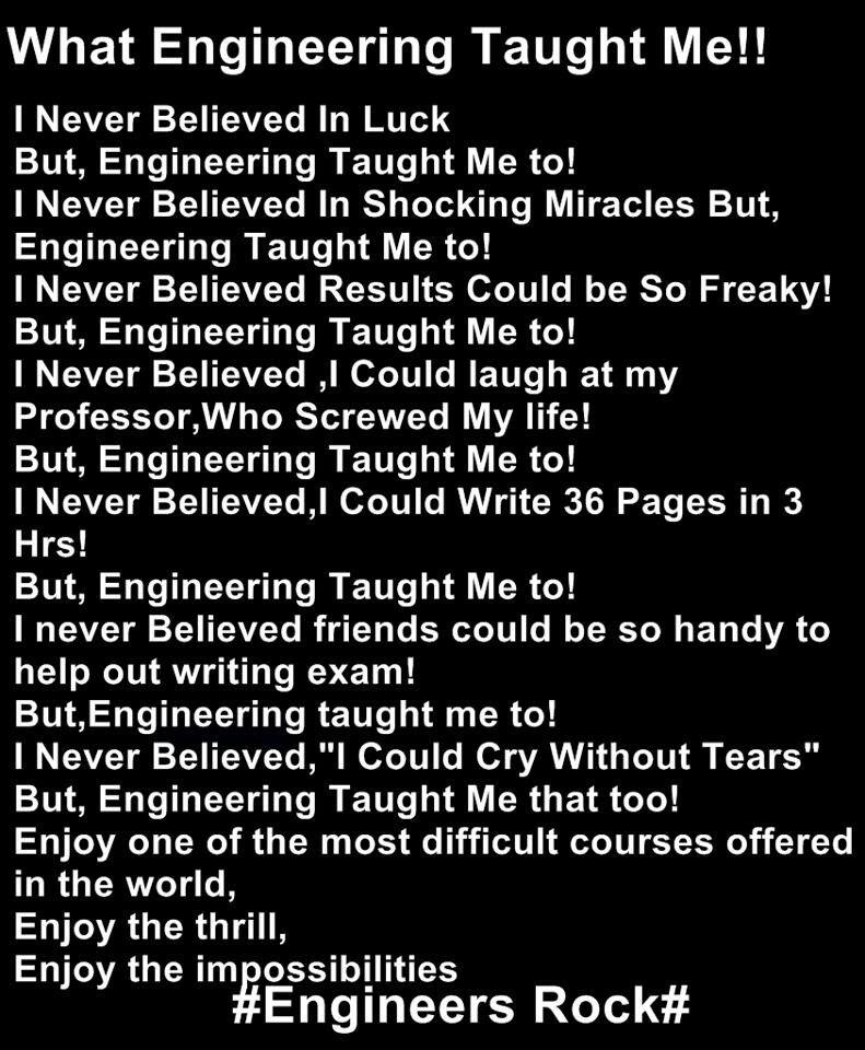 Engineering Engineering student, Engineering, Chemistry