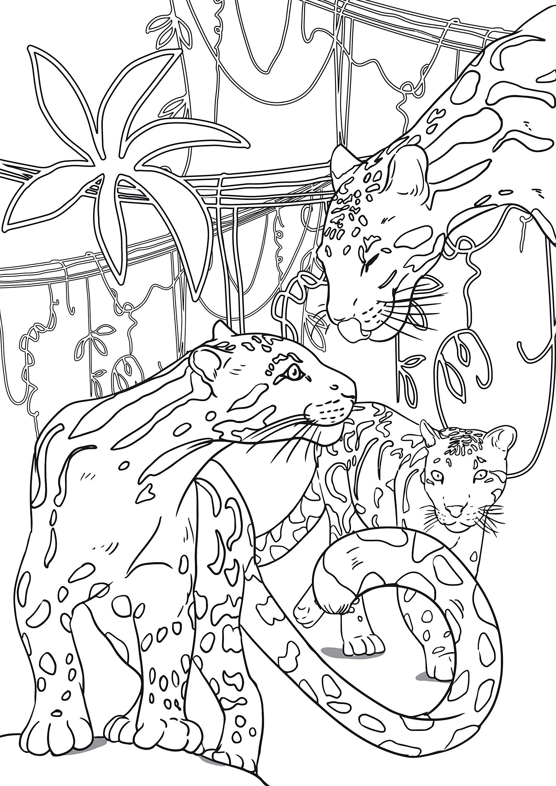 Small and large animals critters my first art therapy