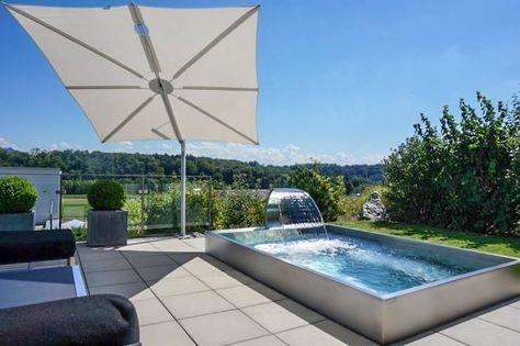 7 geniale kleine Pools, die in jeden Garten passen! Garten and - edelstahl teichbecken rechteckig