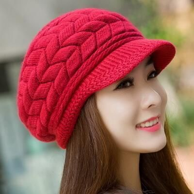 MIK Knitted Wool Hat. MIK Knitted Wool Hat Winter Beanies 9579169b9782