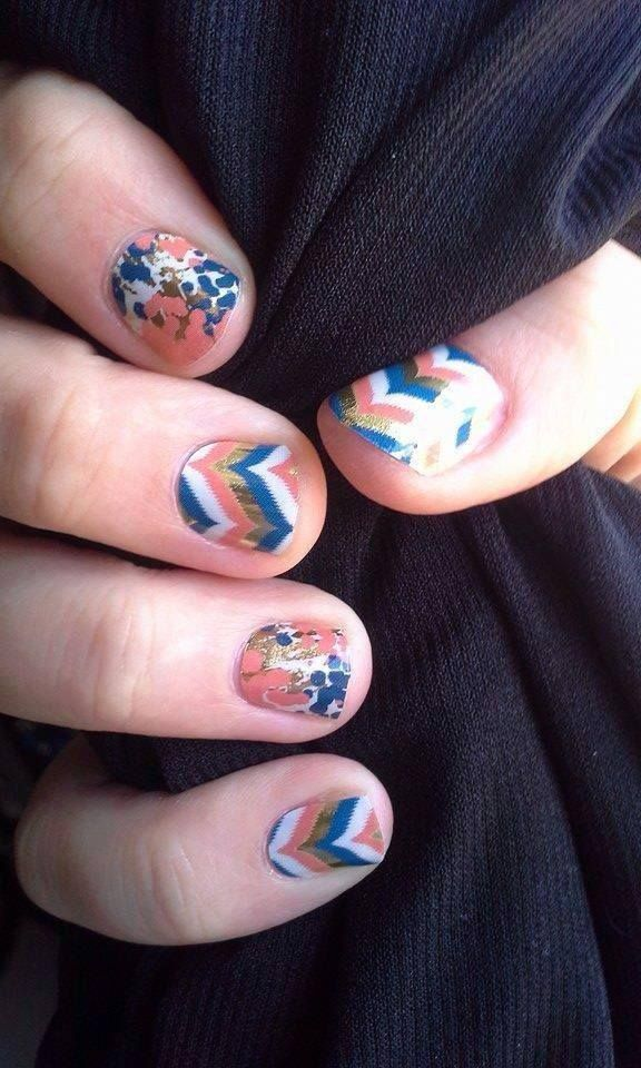 jamberry nails - soiree glam