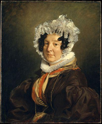 Delacroix, Eugene (1798-1863) - 1835 Madame Riesener nee Felicite Longrois (Metropolitan Museum of Art, New York City)