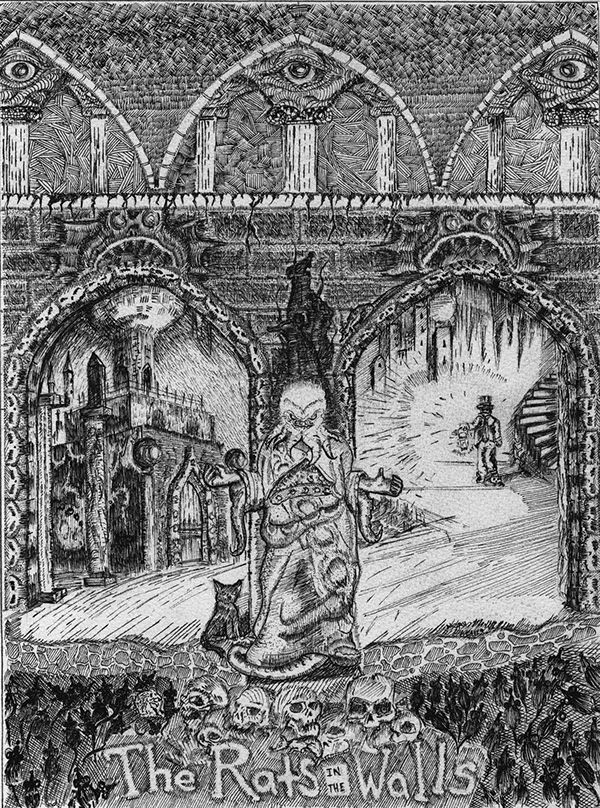 Rats In The Walls On Behance Cosmic Horror Lovecraftian Horror