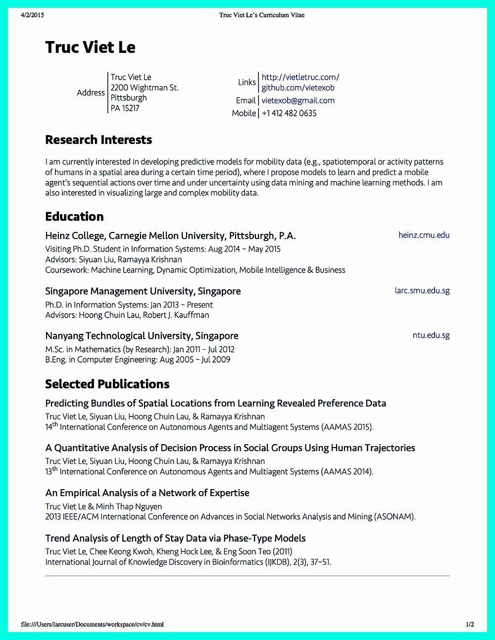 23 Data Scientist Resume Example in 2020 Resume examples