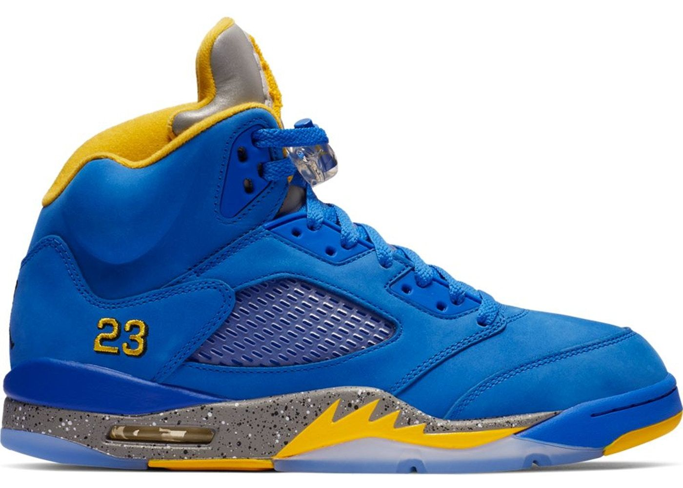 best sneakers 6965a 5268f Jordan 5 Retro JSP Laney Varsity Royal in 2019 | shoes ...