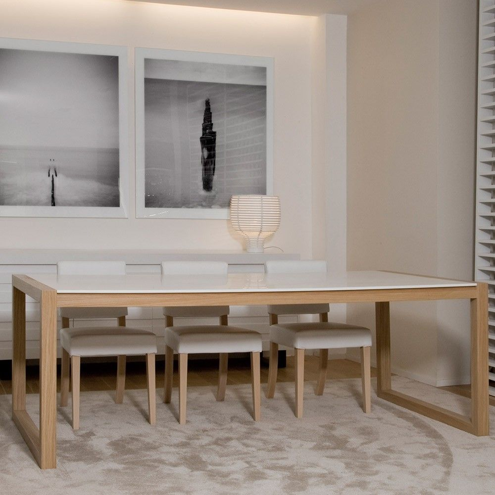 xvl home collection ceylan dining table with corian table top - Corian Kitchen Table