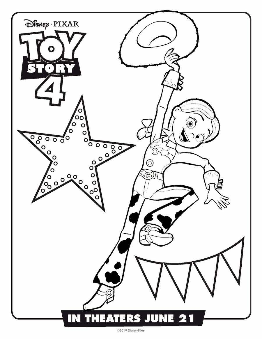 Toy Story 4 Coloring Pages and Activities | Free ...