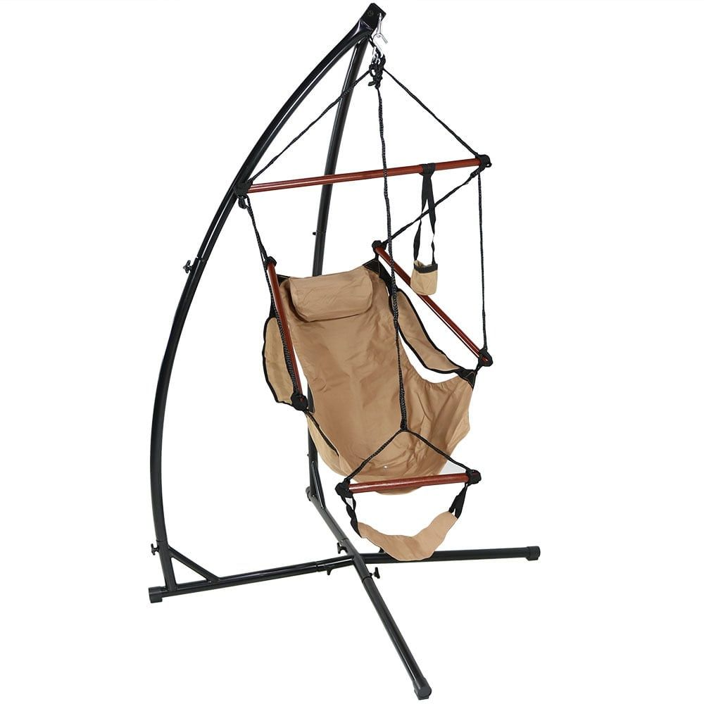 sunnydaze durable x stand and hanging hammock chair set or x chair stand only sunnydaze durable x stand and hanging hammock chair set or x chair      rh   pinterest