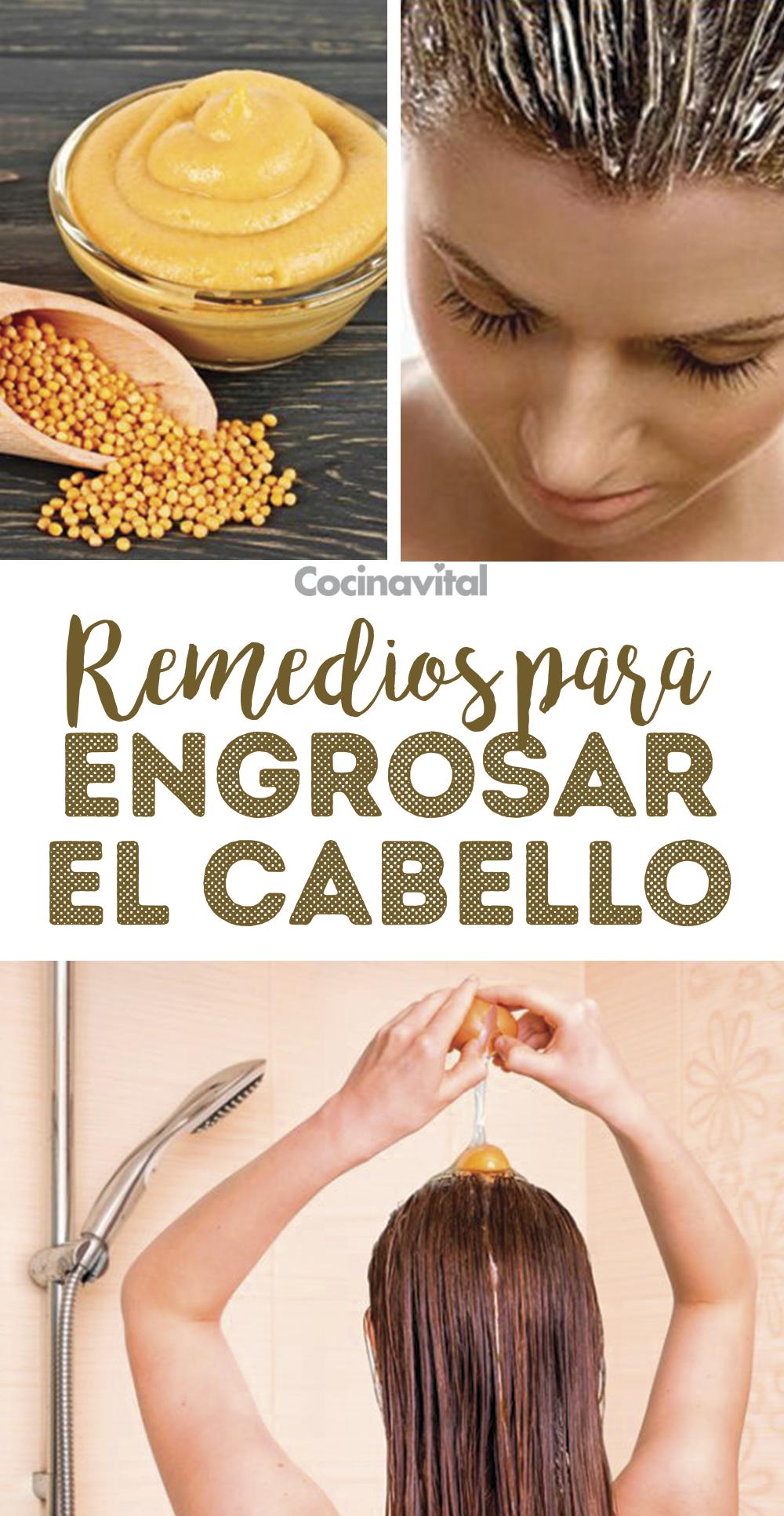 Cómo Engrosar El Cabello Con Remedios Naturales Engrosar El Cabello Tratamientos Naturales Para Cabello Remedios Para El Pelo