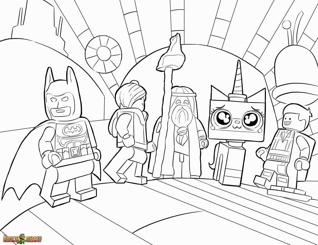Lego Movie Coloring Sheets