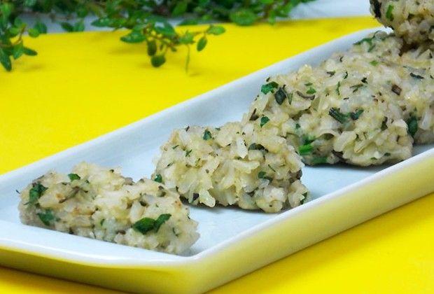 Bolinho de arroz integral é receita saudável e fácil de fazer (Foto: Divulgação)