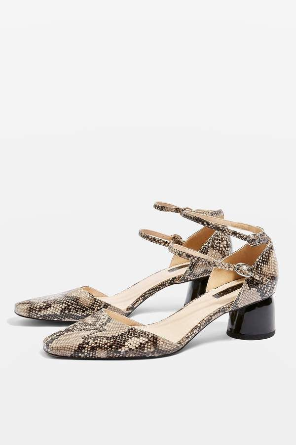 973ad3cdd2e Topshop JACKPOT Snake Print Two Part Court Shoes | Products | Shoes ...