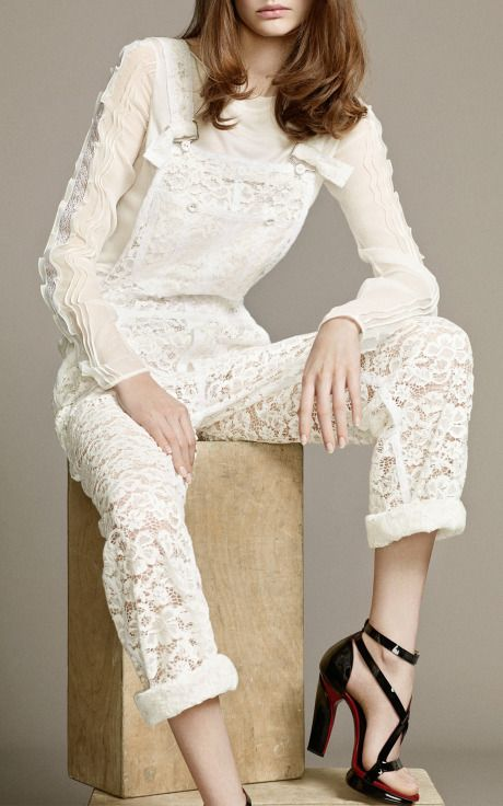 Nina Ricci Resort 2015 Trunkshow Look 7 on Moda Operandi
