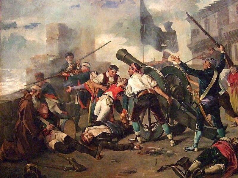 ===La guerra en la pintura=== 12c2de1229db8ac895f279927b5b200e
