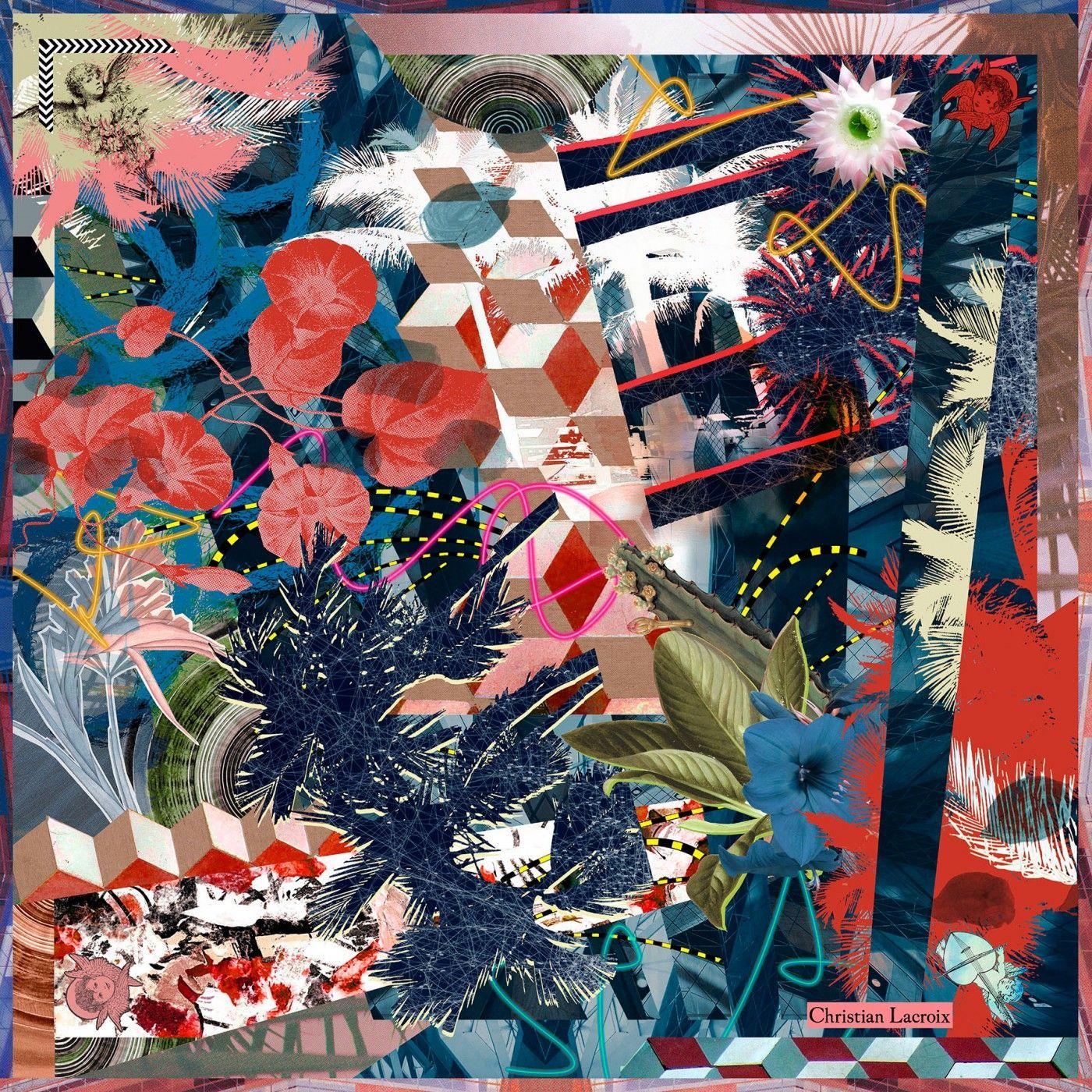 Christian Lacroix - FOULARDS - Accessoires   COLLAGE 2f0e75c268b