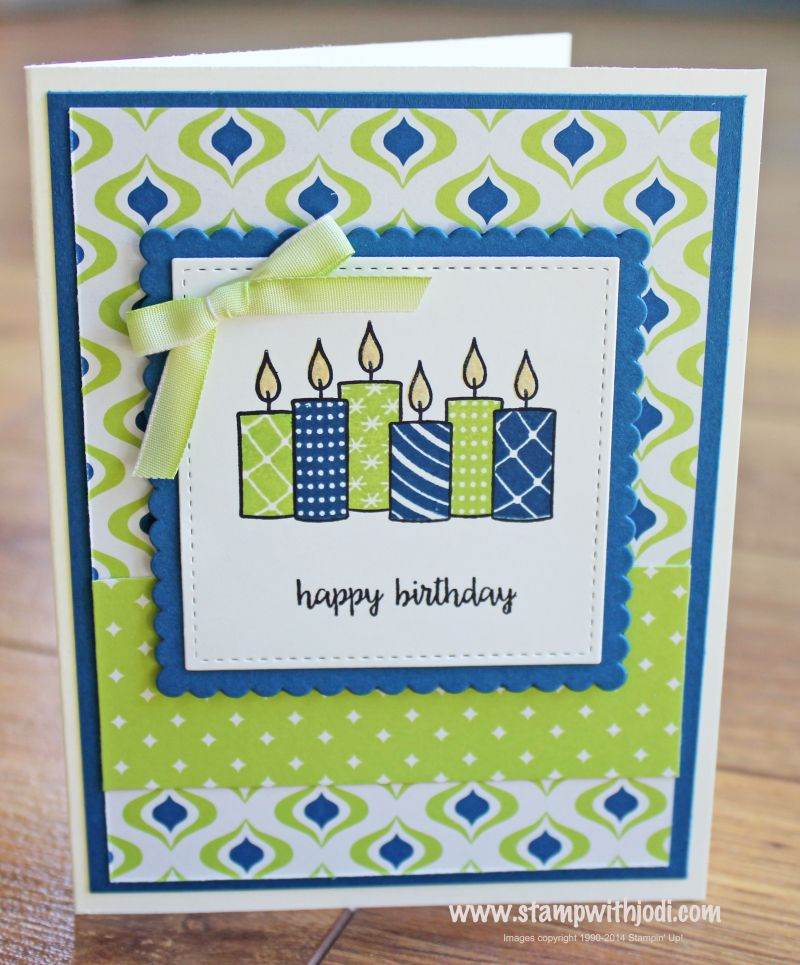 Merry Patterns Exclusive Stamp Set You Can T Buy It But You Can Get It Free Plus When You Cards Handmade Handmade Birthday Cards Stampin Up Birthday Cards