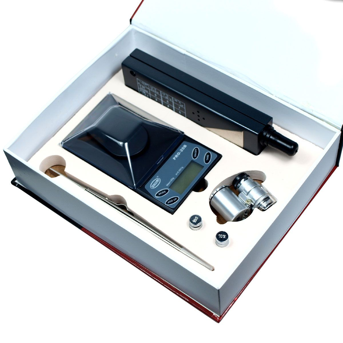 cool Jeweler diamond tool kit : 0.001g Digital Scale + Tester  + Loupe + Tweezers   Check more at http://harmonisproduction.com/jeweler-diamond-tool-kit-0-001g-digital-scale-tester-loupe-tweezers/