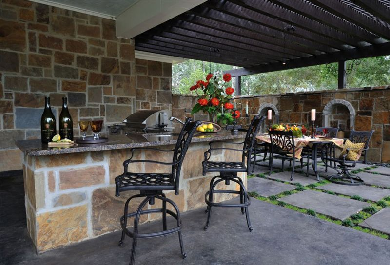 let s eat out 45 outdoor kitchen and patio design ideas outdoor rh pinterest com mx