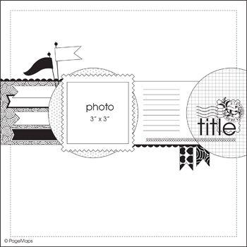 April Pagemap - Scrapbook.com