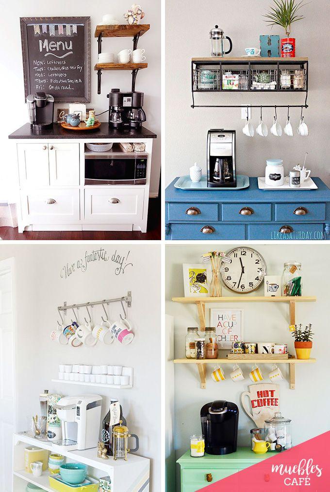 Ideas Bonitas Para Montar Un Rincon De Cafe O Te En Casa Muebles