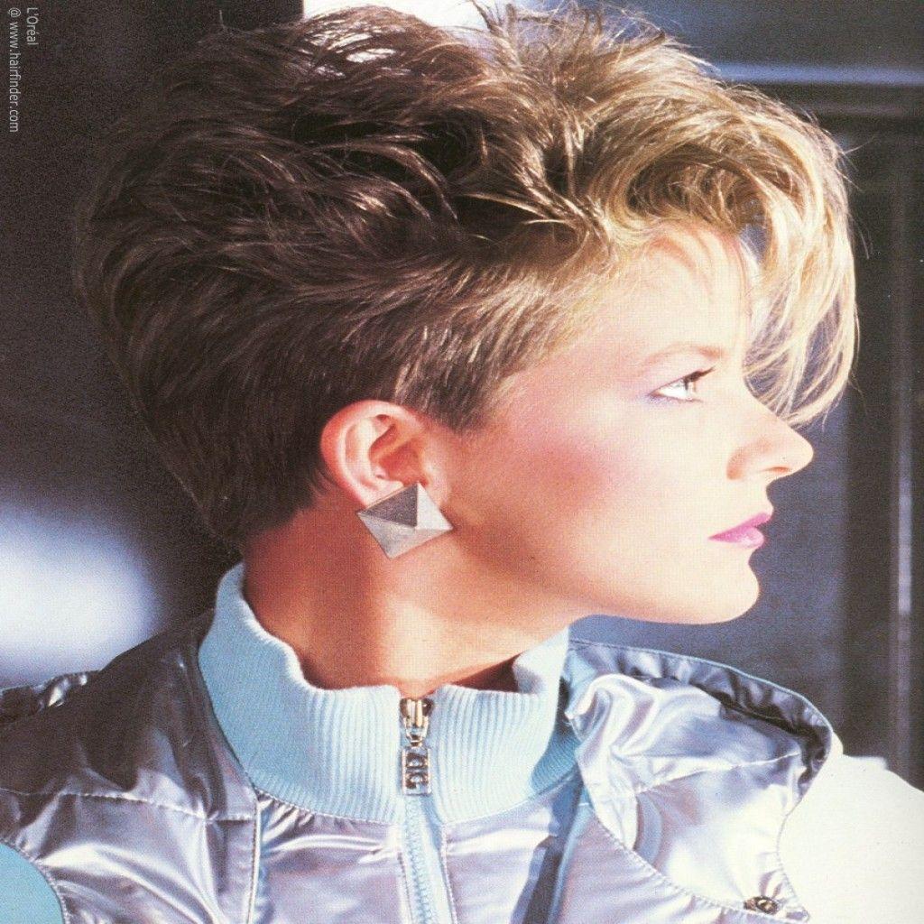 Frauen frisuren der 80er