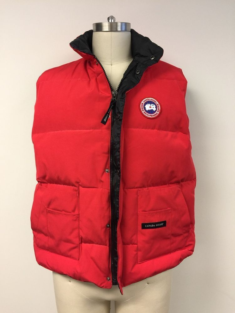 CANADA GOOSE Mens Freestyle Crew Vest XXL, RED - SOLD OUT ONLINE | Clothing,
