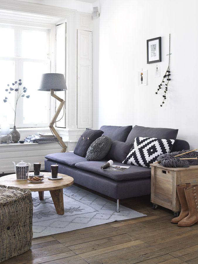 Living \/\/ Kleine Wohnung ganz gemütlich (Clara On Line) Kleine - kleine wohnzimmer gemutlich einrichten