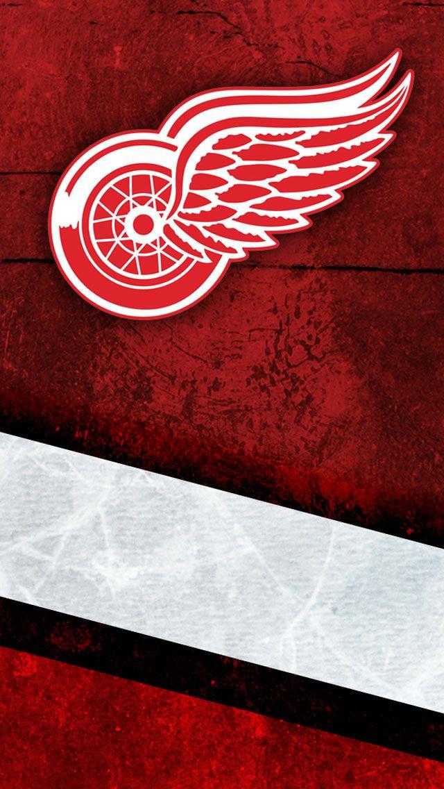 Detroit Redwings iPhone 5 Wallpaper (640x1136)