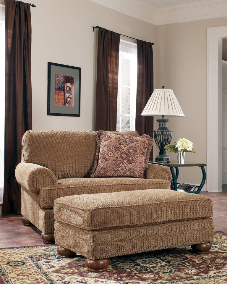 Who wouldn't want to cuddle up in this oversized chair