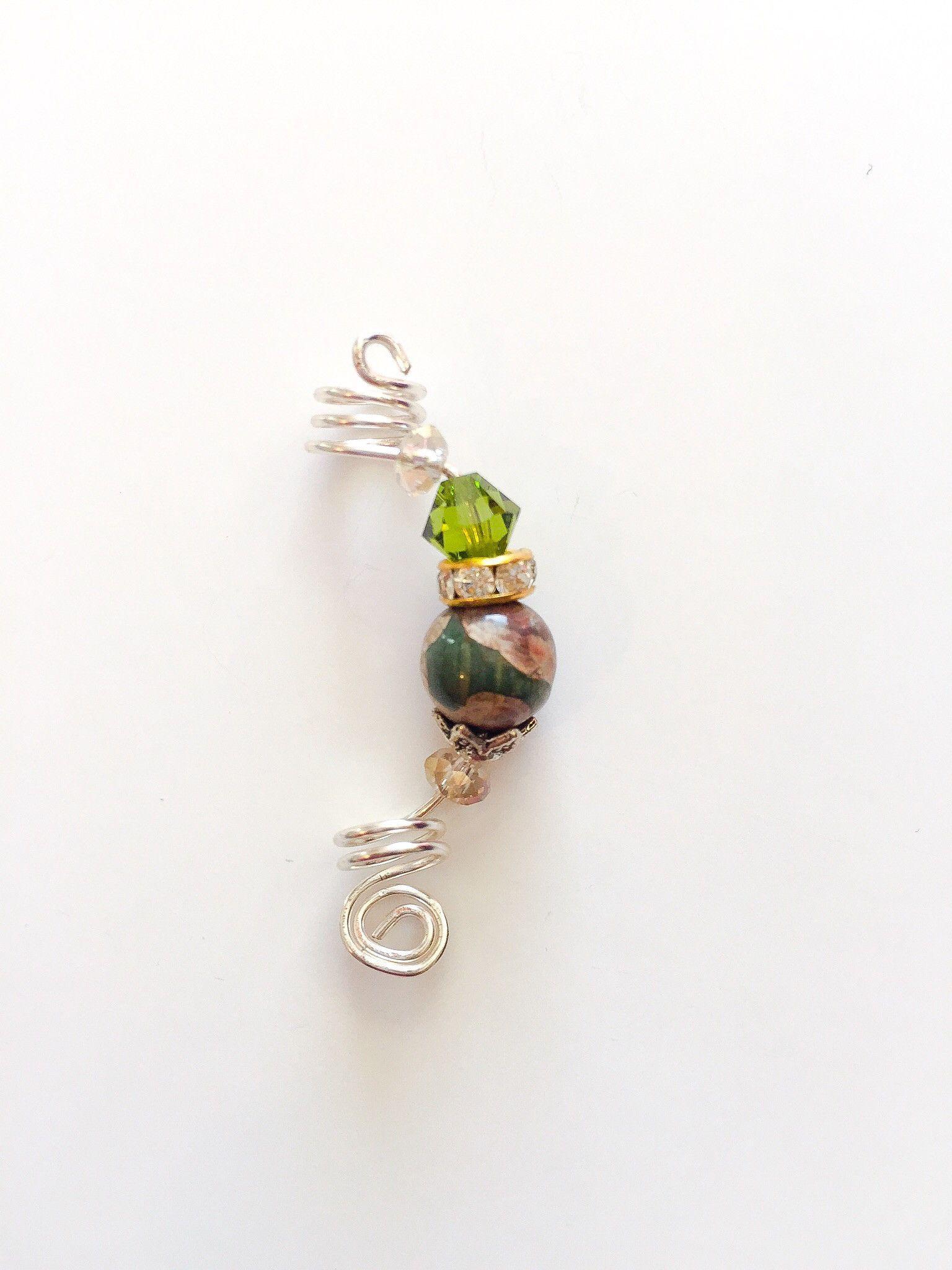 Green Haven Loc Jewelry   Loc jewelry, Sisterlocks and Dreads
