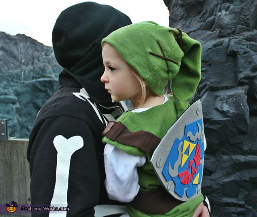 link from the legend of zelda halloween costume contest at