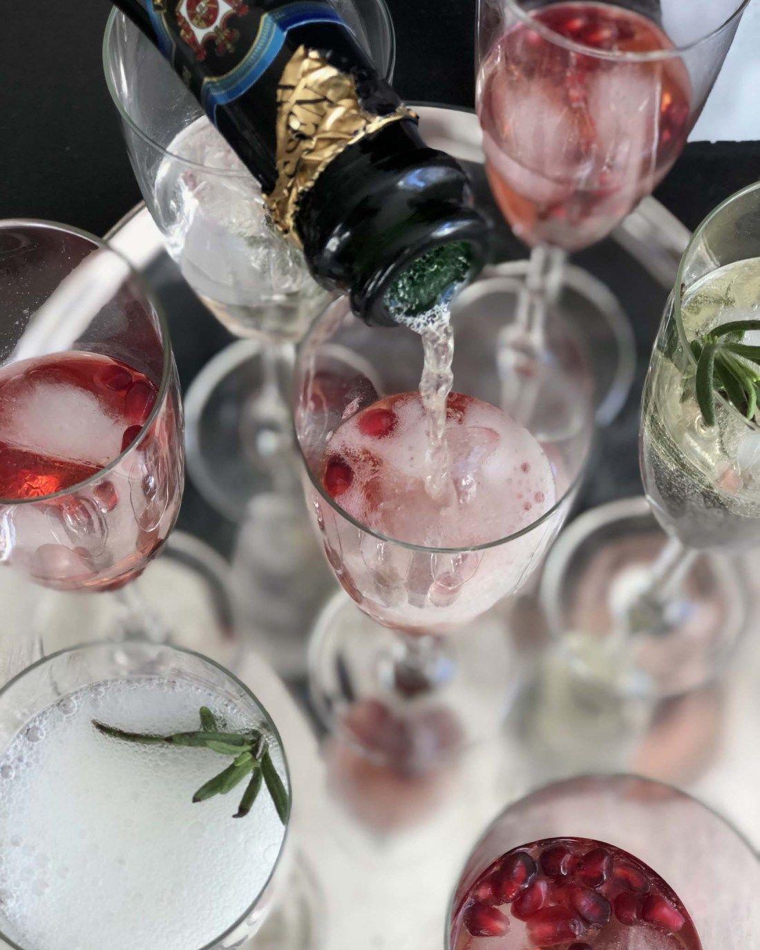 Weihnachtliche Cocktails