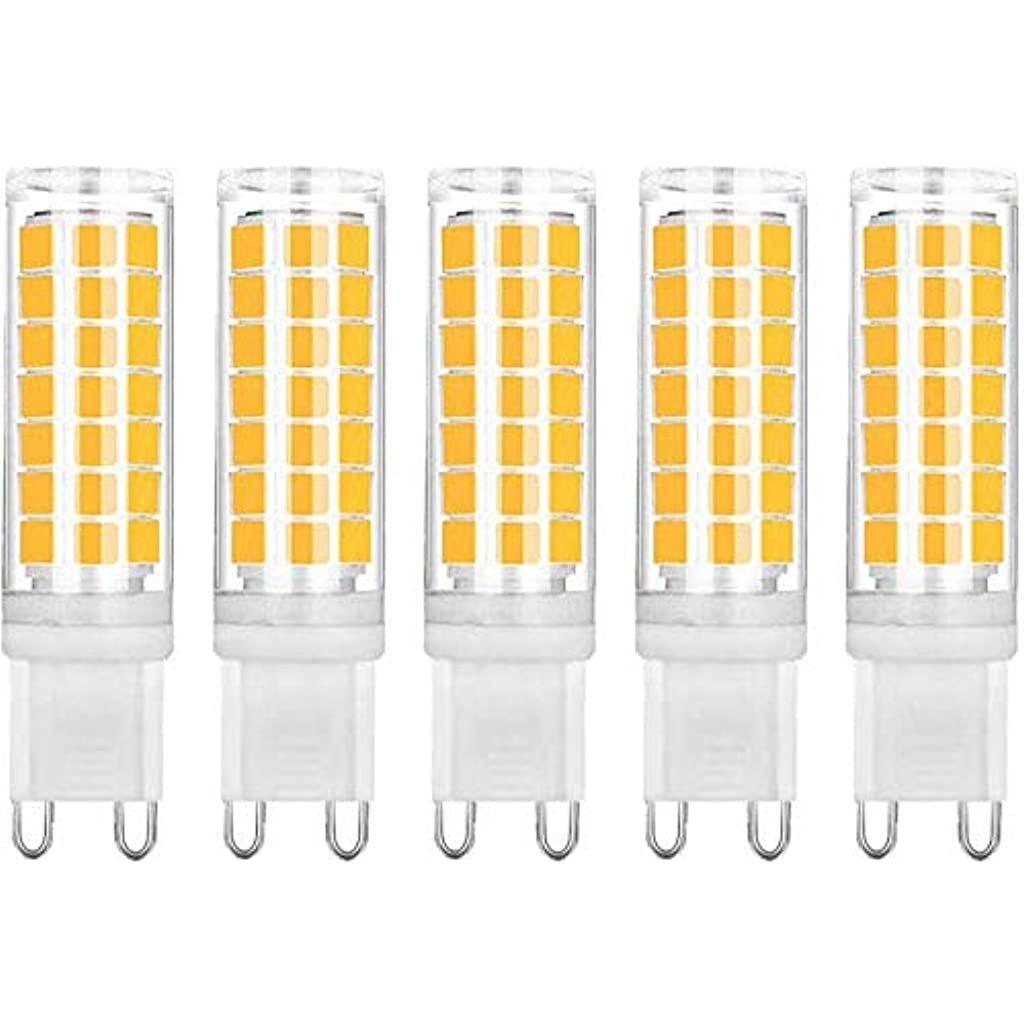 Koopower G9 Led Leuchtmittel Kein Flackern 45 W 400 Lm Energiesparend 6500 K Warmweiss Entspricht 40 W Halogenlampen 5 Stuck Beleuchtung Leuchtmittel Uv Lam In 2020