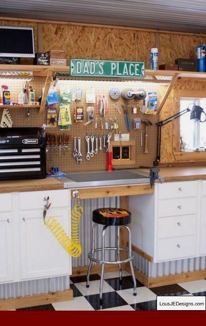 Photo of Garage Workshop Tool Storage and Diy Workshop Equipment. 28888997 #garageshop #w…