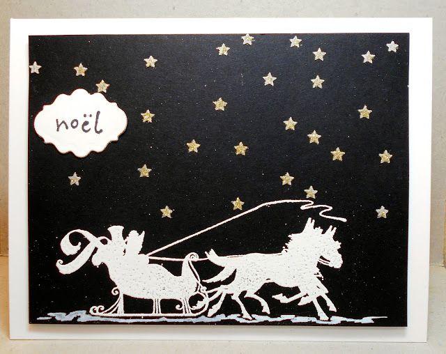 Cardmaker's Garret: Three Unrelated Christmas Cards
