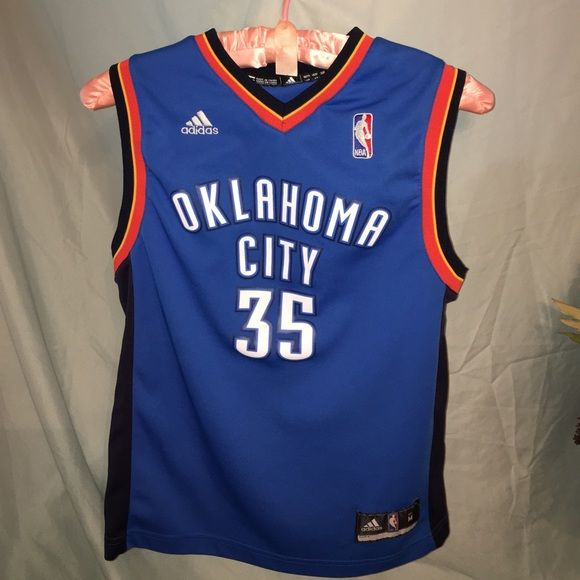 new products 81f3a 74578 OKC Thunder Kevin Durant #35 jersey KD JERSEY for kids! NBA ...