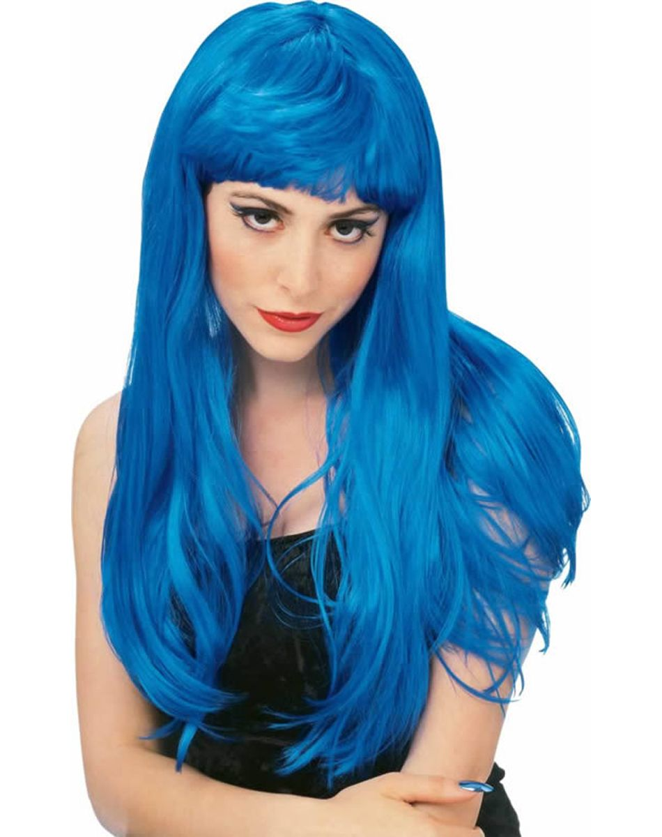 blue wig | ... / Adult Costumes / Shop by Theme / Rock Star ...