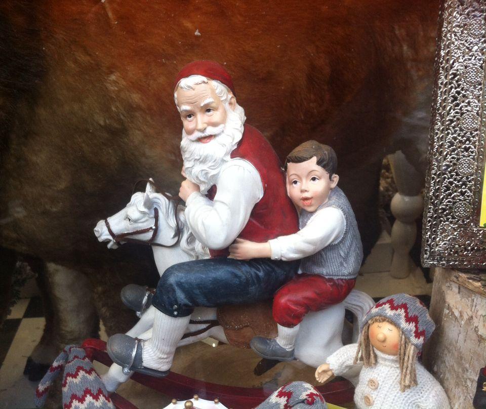 Carillon con Babbo Natale