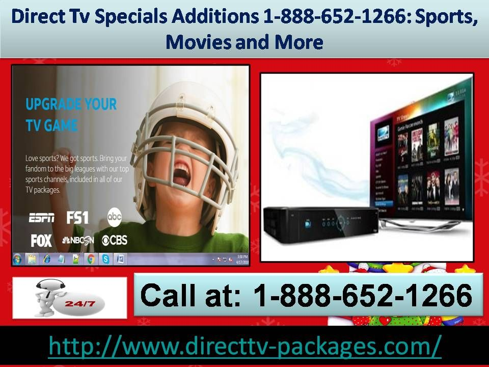 Direct Tv Specials Additions 18886521266 Sports
