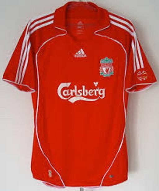 online store 831db 17472 LIVERPOOL FC adidas 2006 2008 Home Premiership FULL KIT