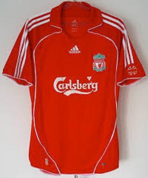 8367a9f376 LIVERPOOL FC adidas 2006/2008 Home Premiership FULL KIT | liverpool ...