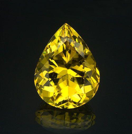 A 14-carat canary tourmaline from Malawi.