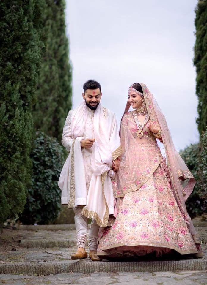 Lovelyy Couplee 😘😘😘 | Sabyasachi bridal, Bollywood lehenga ...