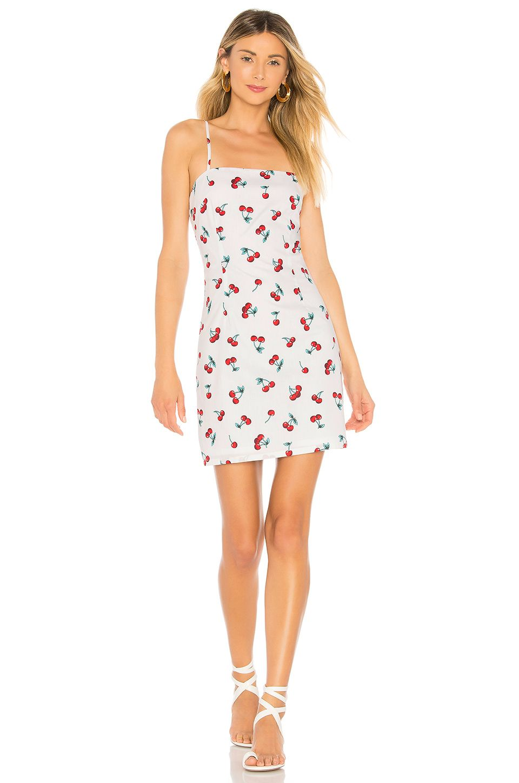 About Us Sherrie Cherry Mini Dress In White Cherry Dresses Mini Dress Fashion [ 1450 x 960 Pixel ]